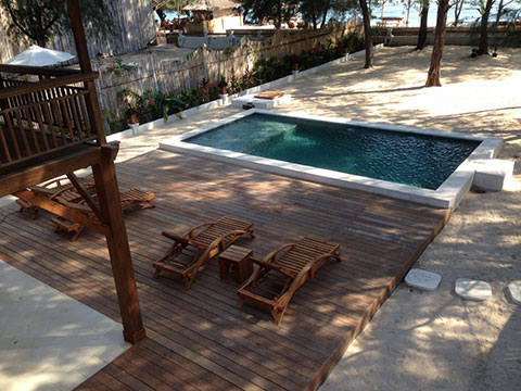 bali modern villa wooden house design concept with swimming pool 1