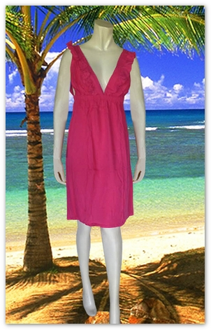 Bali Beach Wear Sundress-1