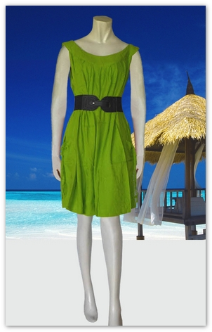 Bali Beach Wear Sundress-4