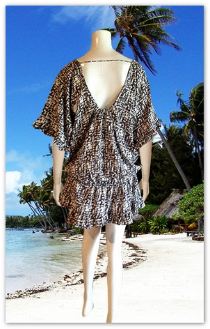 Bali Resort Wear Casual Dresses-3